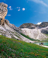 Dolomites family trip photo